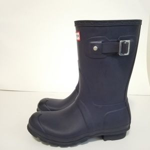 Hunter size 5 waterproof boots